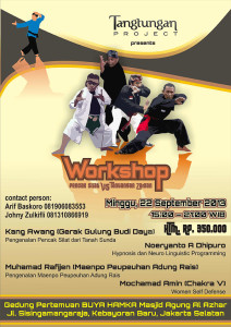 Tangtungan Workshop - Pencak Silat vs Tantangan Jaman