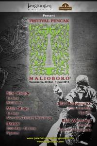 Festival Pencak Malioboro 2014