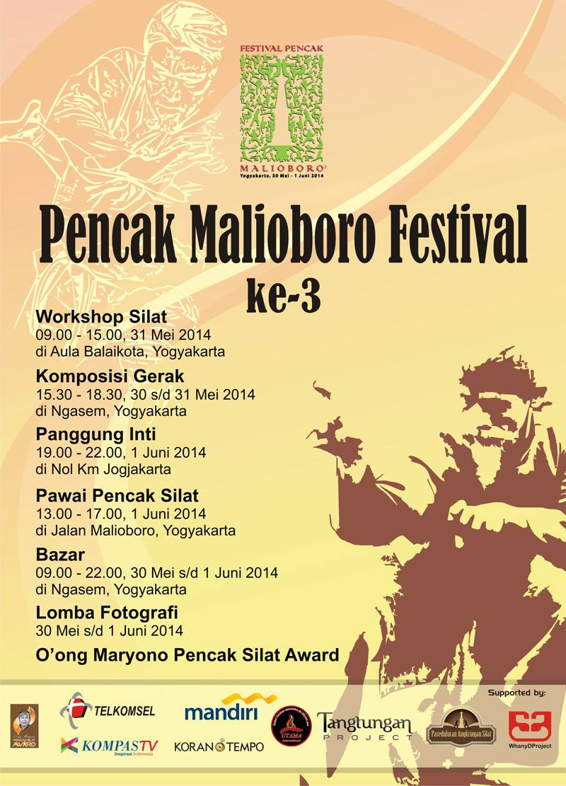 Pencak Malioboro Festival 3 2014