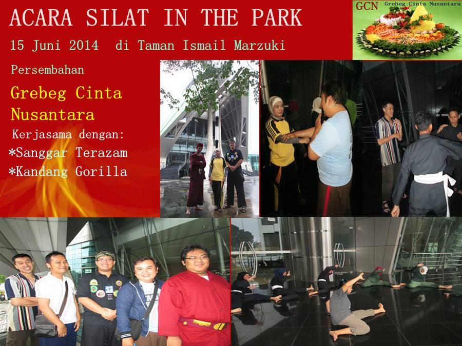 Silat In The Park: Berlatih, Bersilaturahmi dan Berdiskusi