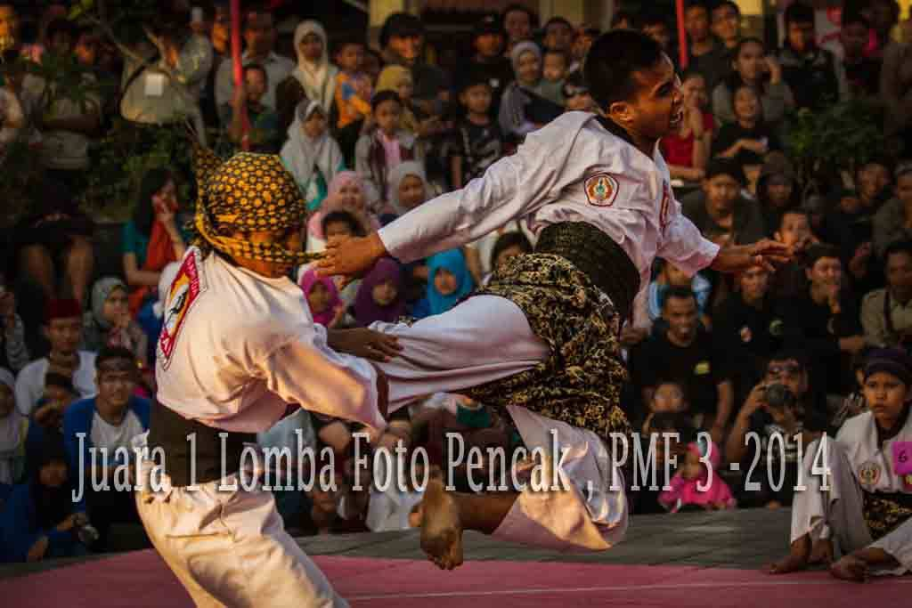 Juara 1 Lomba Foto Pencak Malioboro Festival ke-3 2014