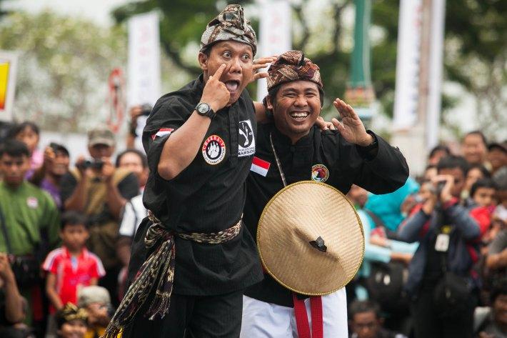 pencak malioboro festival
