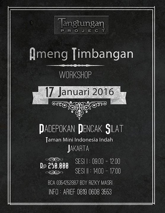 workshop timbangan karenceng januari 2016